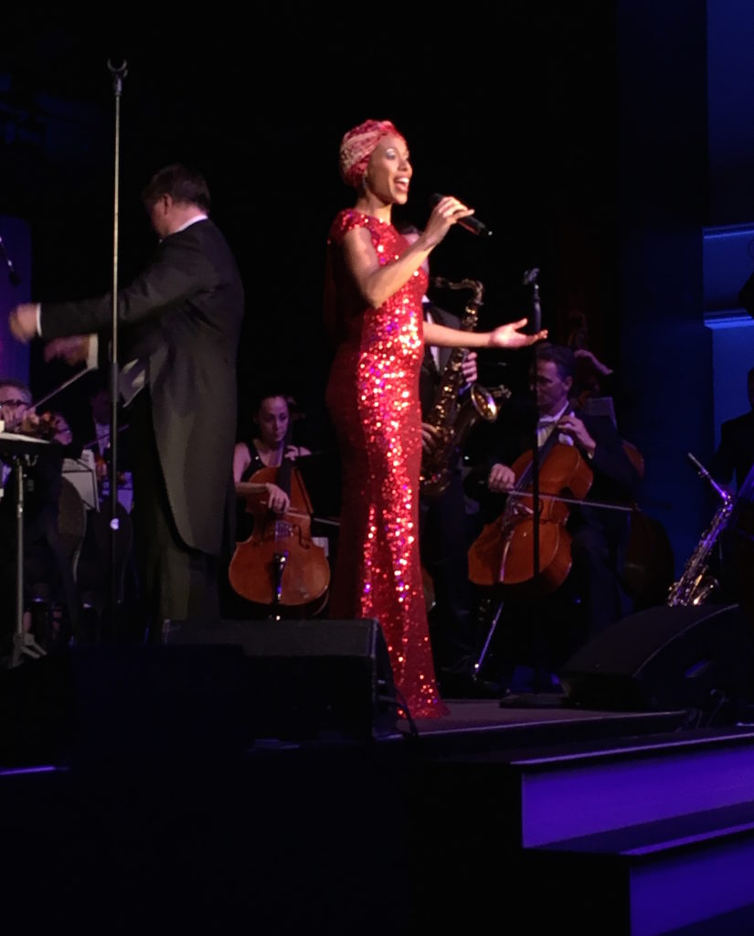 Whitney Houston Gala - Myra Maud mit Philharmoniker Leipzig